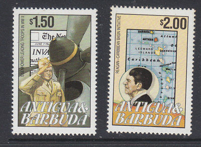 Antigua & Barbuda 1984 US Press with some toning MNH