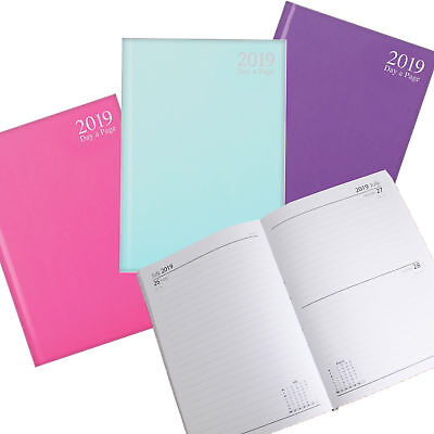 Tallon 2019 Hardback Diary - Day a Page 3482 - A5 - Choose Colour