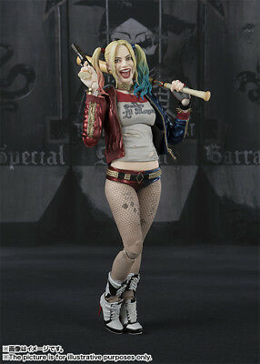 S.H.Figuarts Suicide Squad Harley Quinn PVC Action Figure New In Box