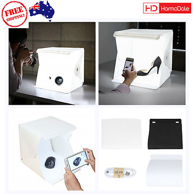 Small Photo Studio Tent Mini Foldable Photography Studio Portable Light Box Kit