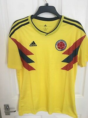 Colombia 2018 World Cup football shirt- Large