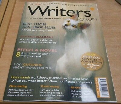 Writers' Forum magazine #203 Sep 2018 Beat those first page blues +Pitch a novel