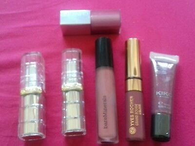 lot maquillage rouge a levres clinique kiko yves rocher  l oreal