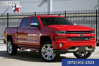 Chevrolet Silverado 1500 LTZ Z71 Clean Carfax One Owner 2017 Red LTZ Z71 Clean Carfax One Owner!