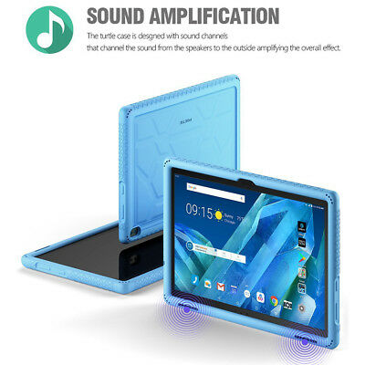 For Lenovo Tab 4 10 Plus Tablet Blue Poetic【TurtleSkin】Bottom Air Vents Cover