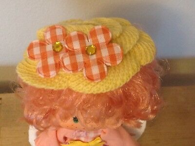 Replacement Hat For Vintage Strawberry Shortcake Doll Peach Blush