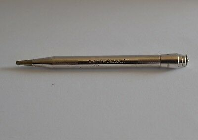 Vintage 'Life Long' UK Sterling Silver Propelling Pencil - Engraved SS Oronsay