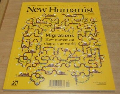 New Humanist magazine Autumn 2018. Migrations & how they shaped our world & more