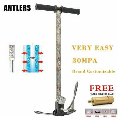 4500PSI PCP Pump 3 Stage Airgun PCP Pump air Rifle High Pressure Pcp Hand Pump w