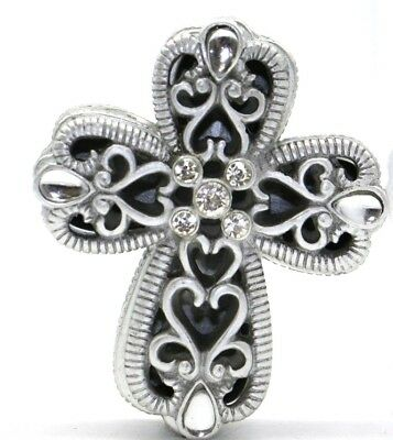 Fashion Craft - Cross Design Curio Box from the Heavenly Collection, Damaged Box