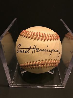 More Rare Than Babe Ruth & Lou Gehrig Autographed Baseball - Authenticated