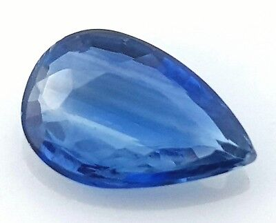 WaterfallGems 1.20ct Kyanite Pear, 9x6mm