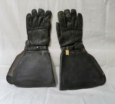 Vintage Motor Cycle Gauntlet Gloves /huntington / Dry Goods Co.