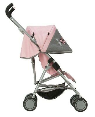 Silver Cross Pop Max Dolls Pushchair - Vintage Pink Fabric