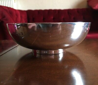 Solid Silver Bowl Chester 1924
