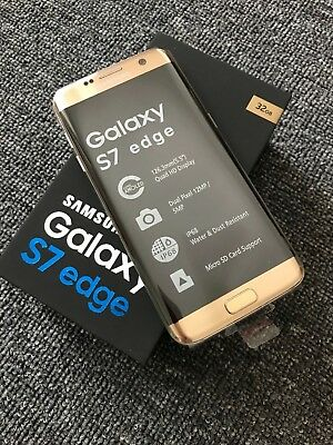 New Samsung Galaxy S7 Edge G935T T-Mobile Unlocked Android Smartphone GOLD