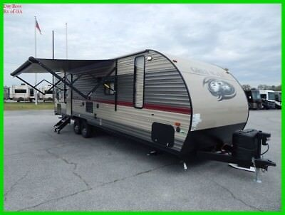 2018 Forest River Cherokee Grey Wolf SE 26CKSE New Travel Trailer Bunk House
