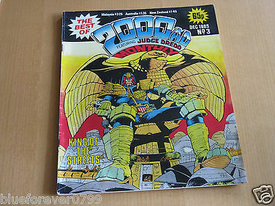 THE BEST OF 2000AD FEATURING JUDGE DREDD No3 DECEMBER 1985