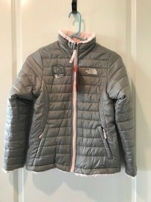 The North Face Girls Reversible Mossbud Swirl Jacket NWT Msrp $110.00
