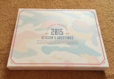 BTS Bangtan Boys 2015 Season's Greetings Full Package KPOP with Free Gift
