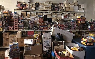 Huge Baseball Card Collection 1 million plus cards!!!!!!!!!!