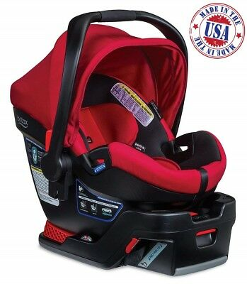 Britax B-Safe 35 Elite Infant Car Seat with Base Baby Toddler Safety Chair Red