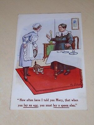 Early F G Lewin Comic Pc - How Often Have I Told You Mary - Vgc