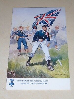 Early Tuck Oilette Naval Pc - Victoria Cross - Midshipman Duncan Boyse - Vgc