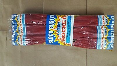 Firework label Blockbuster laser Rockets