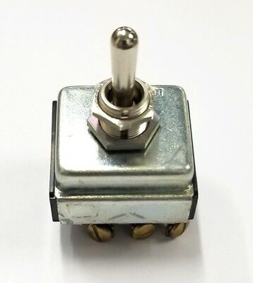 NEW Cutler Hammer CH 7701K2 3PDT ON-OFF-ON Toggle Switch 15A 125VAC, 10A 250VAC