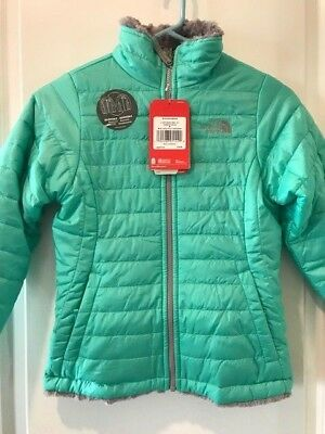 472978332ecc THE NORTH FACE Girls Reversible Mossbud Swirl Jacket NWT Msrp  110.00