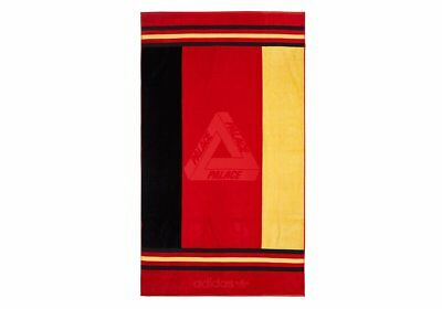 Adidas Palace Towel Germany Deutschland Badetuch Strand Black Red Yellow Rot