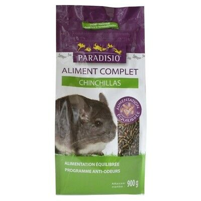 Aliment Complet pour Chinchillas - Paradisio - 900g
