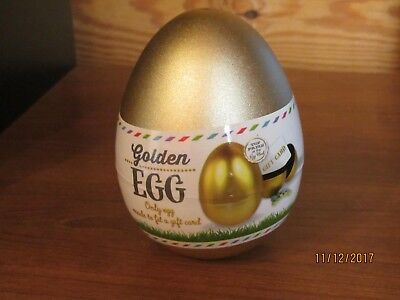 Easter Buddy Golden Egg- Only Egg Made To Fit A Gift Card!