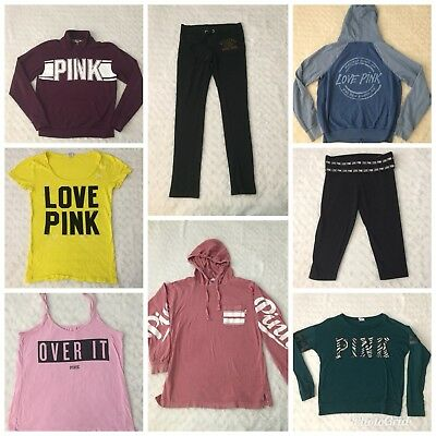Victoria's Secret PINK LOT Size XS 8 Pieces