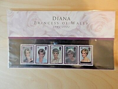 Princess Diana Stamps issued by the Royal Mail