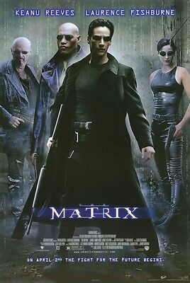 """The Matrix - Keanu Reeves / Laurence Fishburne - Movie Poster 24 x 36"""" - NEW"""