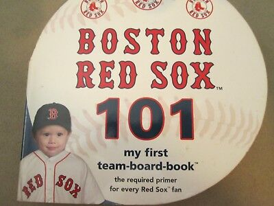 babys 1st boston red sox book 101 my fiarst team board book hard cover