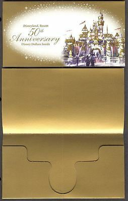 Disney Dollar Cover (Type 12) Gold 50th Anniversary