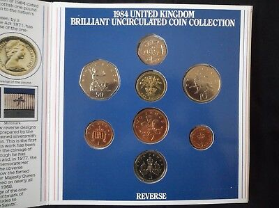 1984 United Kingdom Brilliant Uncirculated Coin Collection