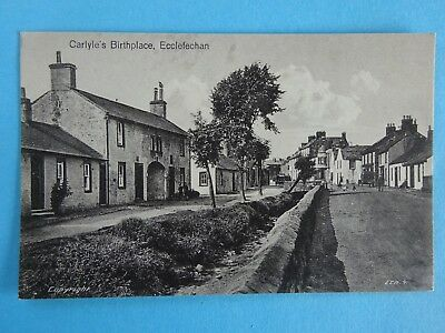 Carlyles  Birthplace, Ecclefechan - 1940s - unposted