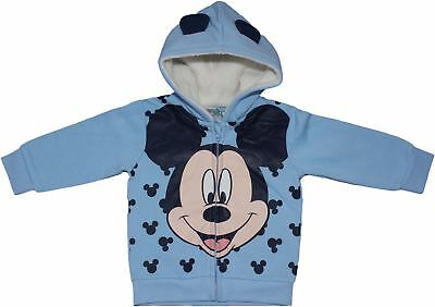 Mickey Mouse Soft Fleece Baby Hoody Jumper