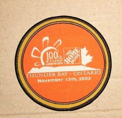 Home Depot Patch - 100th store Thunder Bay - Ontario - November 13th, 2003