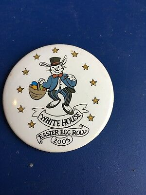 White House 2005 Easter Egg Roll Pin
