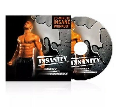 INSANITY: Insanity Fast & Furious DVD Workout - 20 Minute Workout Authentic