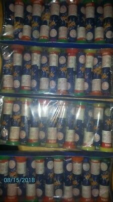 Lot  Horse Brand fireWorks DOT bang Arts 4 doz in boxes.SNOW FLAKES FOUNTIAN
