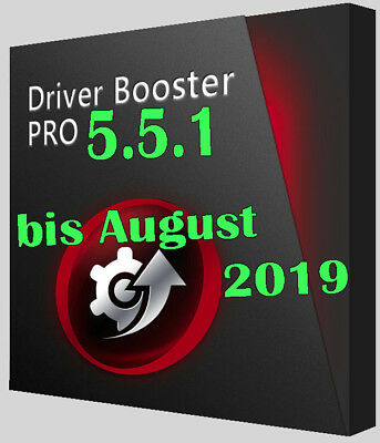 Driver Booster 5.5 Pro Vollversion gültig bis August 2019 (ca.1 Jahr/ 3 PCs)