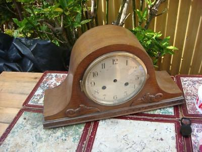 Clock Wooden Case Empty Inside For  Westminster Involvement For Spare or Repair