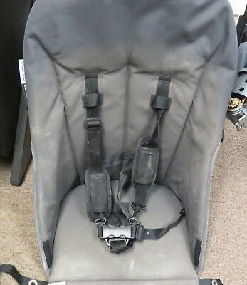Bugaboo Cameleon Baby Child Stroller Grey Seat Fabric Harness Replacement Part