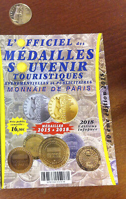 Catalogue Officiel Médailles Souvenir Monnaie De Paris 2018 Couleur Or Version 2